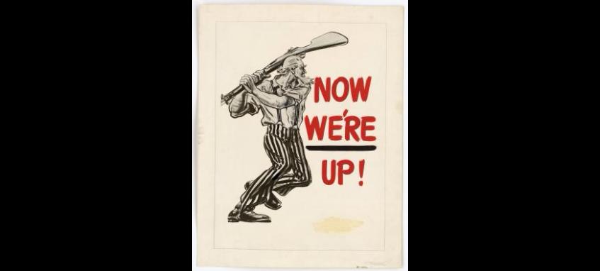 Propaganda Poster WWII