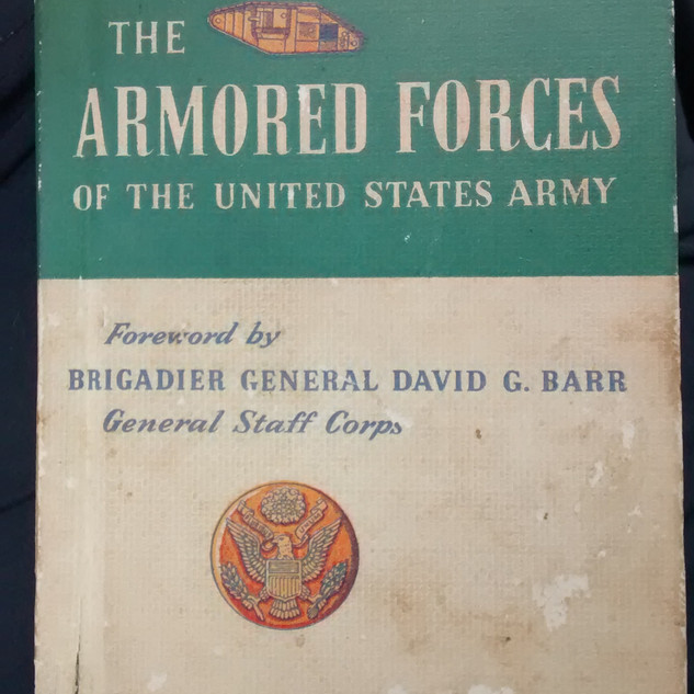 1943 Overview of Army Armored Forces