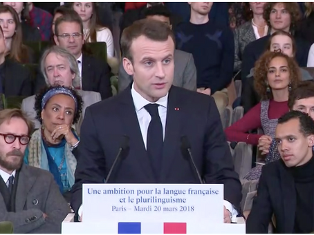 President Macron Gives Lafayette Academy a Shout Out