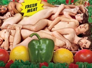 Fresh Meat - original casting