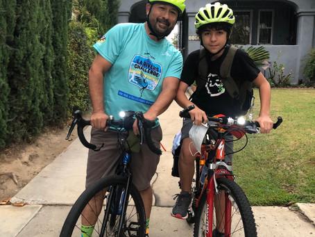 Biking to School - Asa's Story