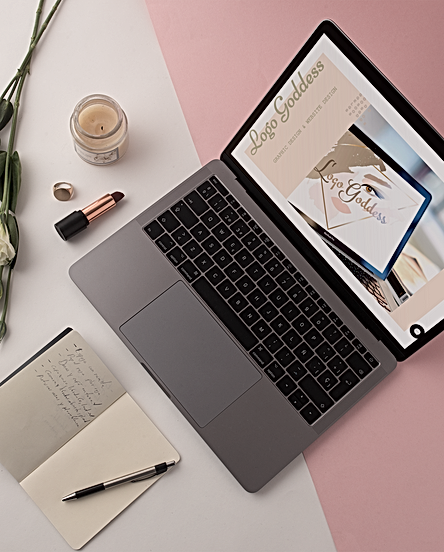 macbook-template-on-a-white-and-pink-sur