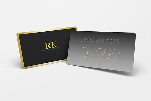 Loyalty Cards (Print Ready)
