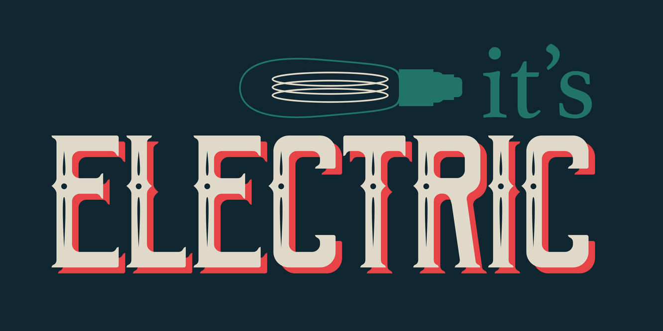 It's Electric Logo - Almost Finalized