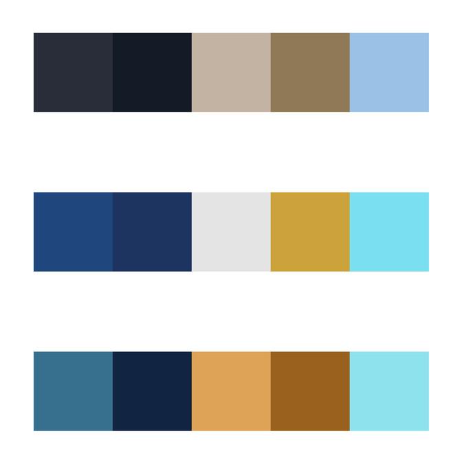 SDCC Color Palettes
