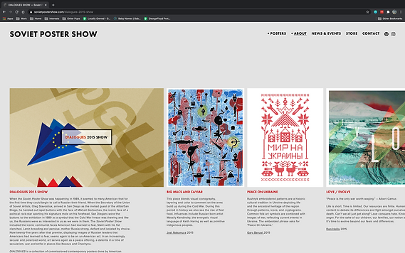 Dialogues Website