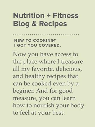 Enjoy my recipes!