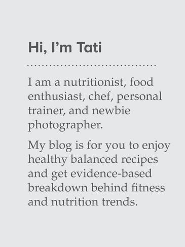 Hello, I'am Tati!