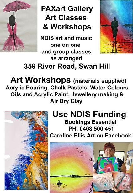 Art Classes and Workshops NDIS