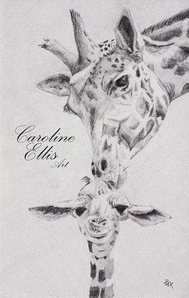 pencil giraffe