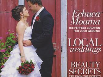 Cover of Echuca Moama Wedding Magazine