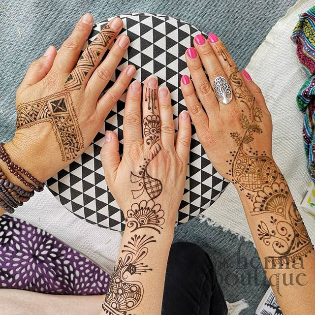 Party on henna package
