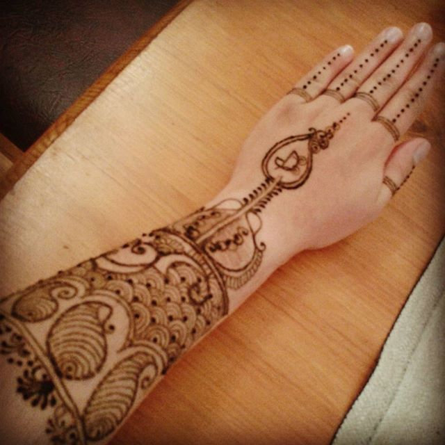More henna, please