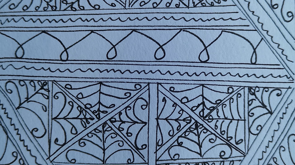 Colouring page: Feeling Moroccan
