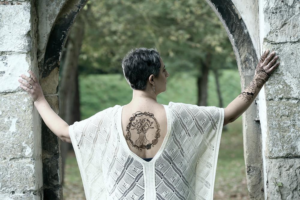 Tree of life Oxford henna
