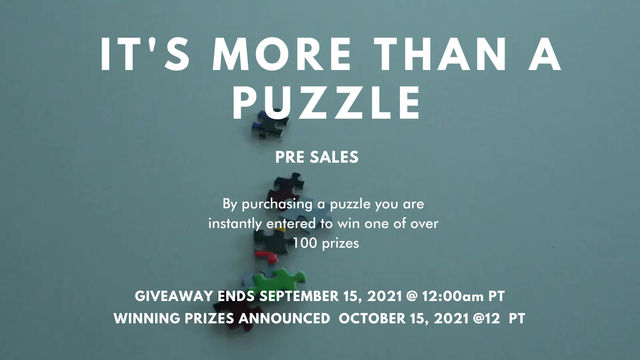 """The Good News Never Ends With """"It's More Than A Puzzle"""""""
