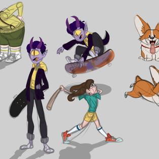 Character Design - Portfolio