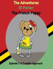 Porter the french puppy 1930's Poster.jp