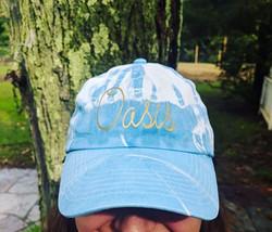 Natural Indigo Dyed Cap