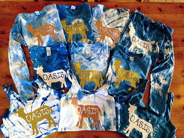 Natural Indigo Dyed Shirts