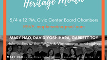 Asian American and Pacific Islander Heritage Month Celebration #APAHM2017