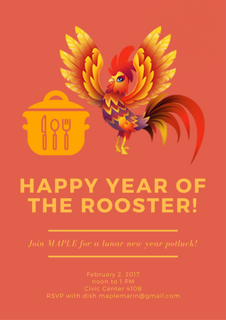 Lunar New Year Potluck 2017
