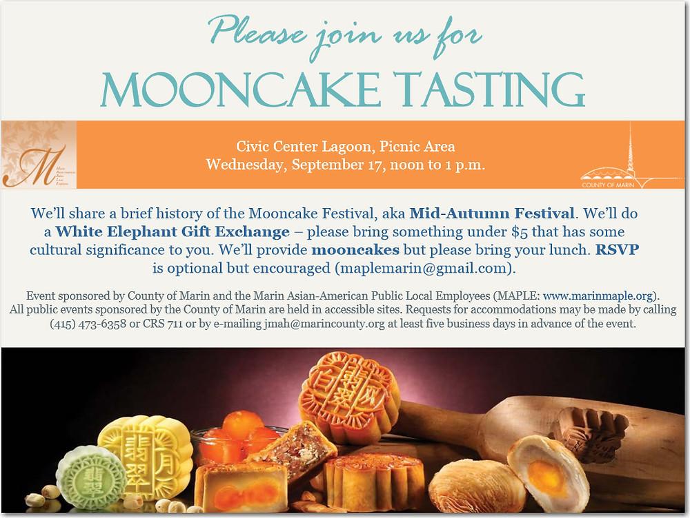 Mooncake Tasting flyer 2014
