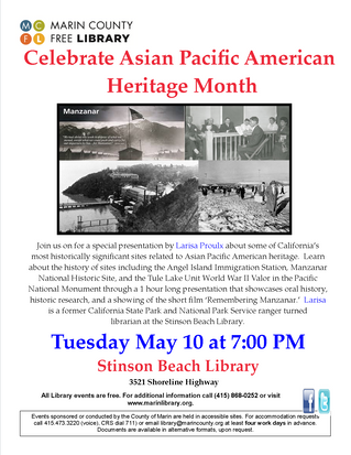 Celebrating APA Heritage Month at the Marin County Free Library