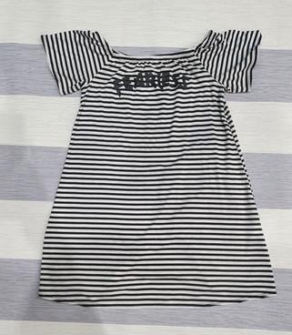 "7-8 years boohoo dress ""fearless"""