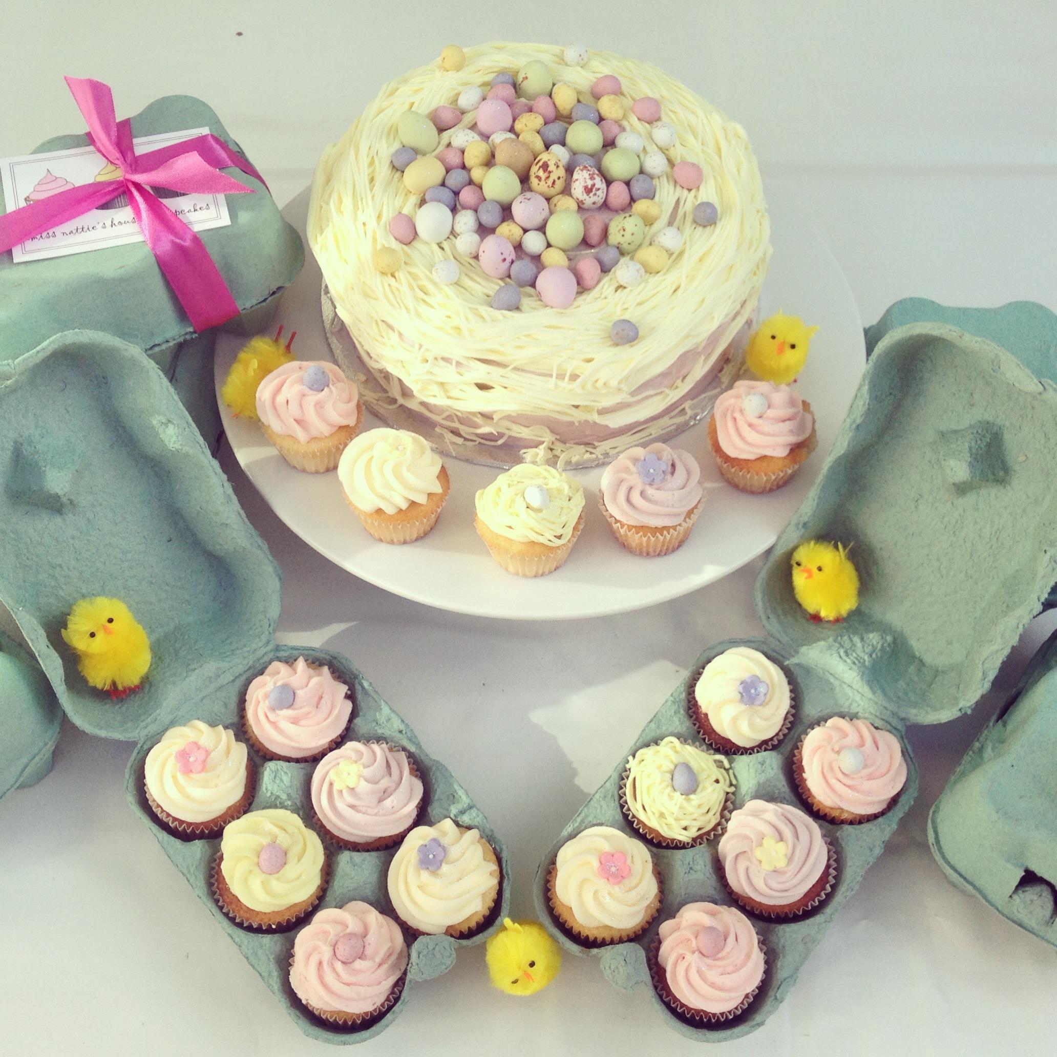 Easter Mini Cupcake Gift Box