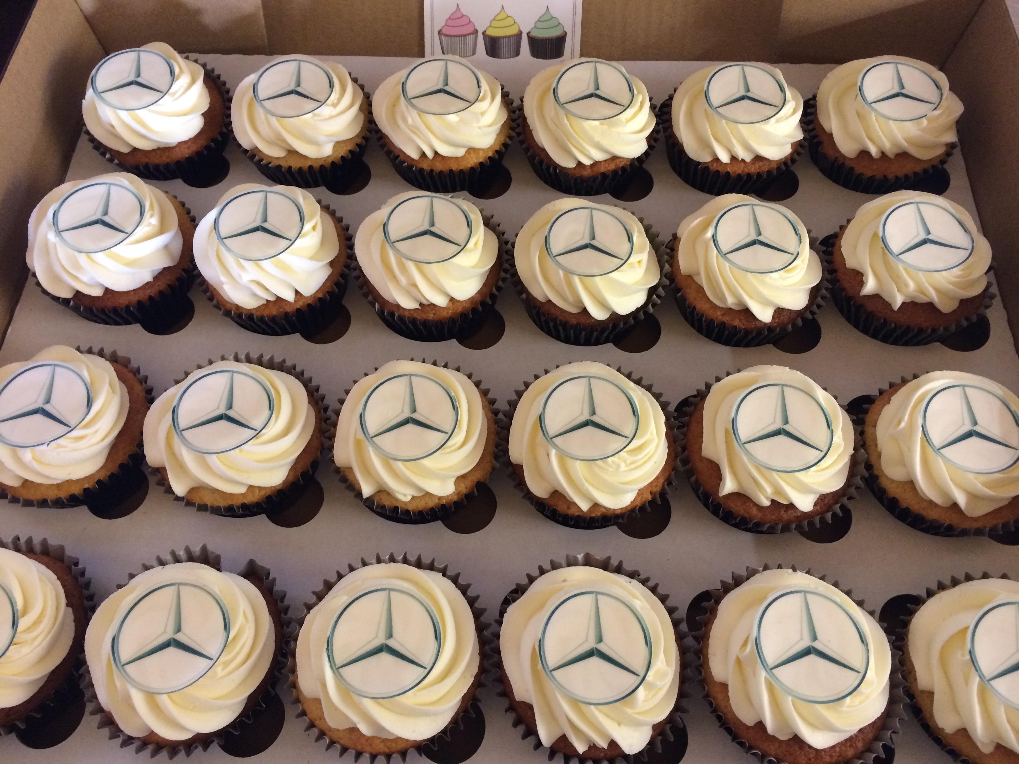 Mercedes Corporate Cupcakes