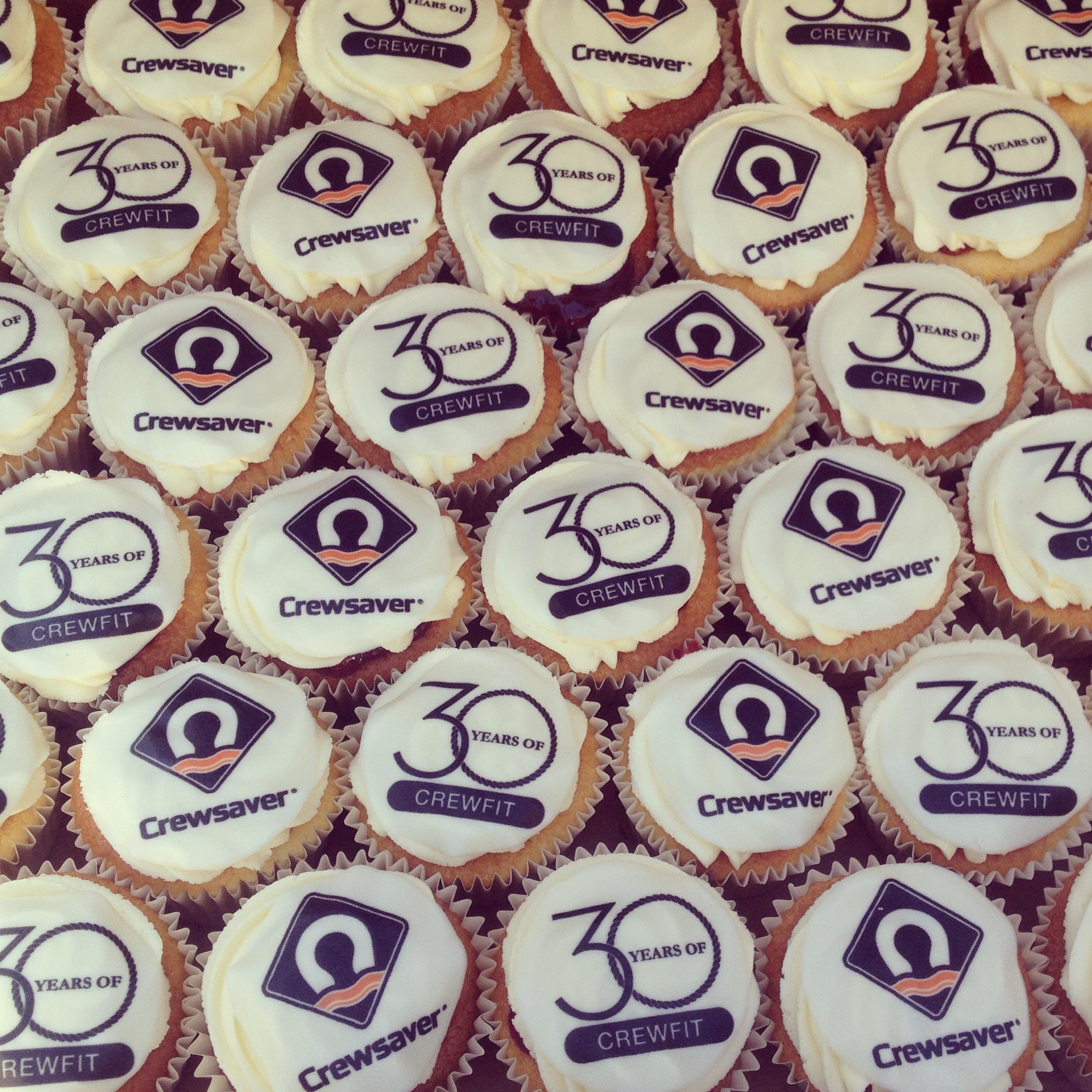 Crewsaver Corporate Cupcakes