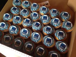 Health On Line Corporate Cupcakes