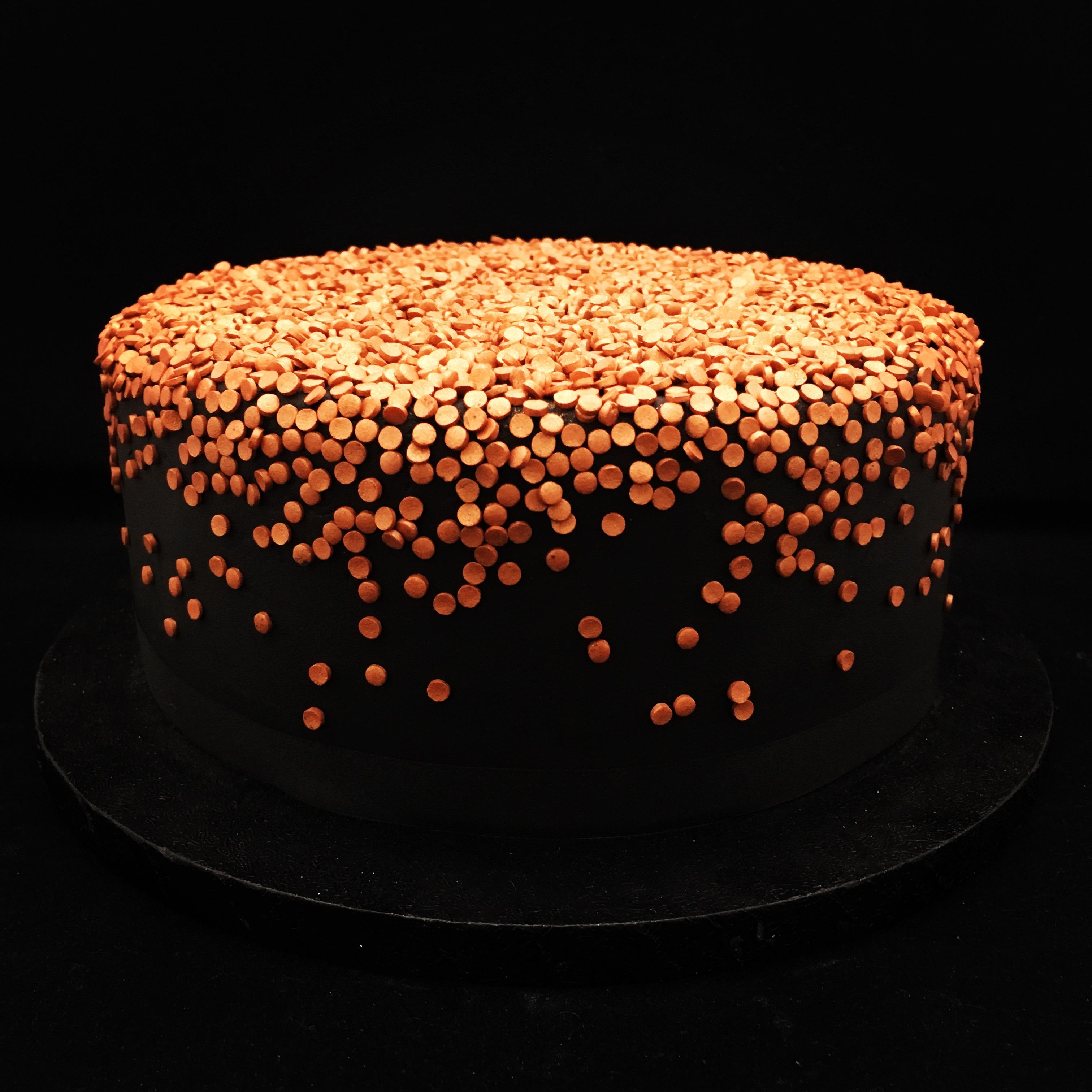 Confetti Cascade Cake