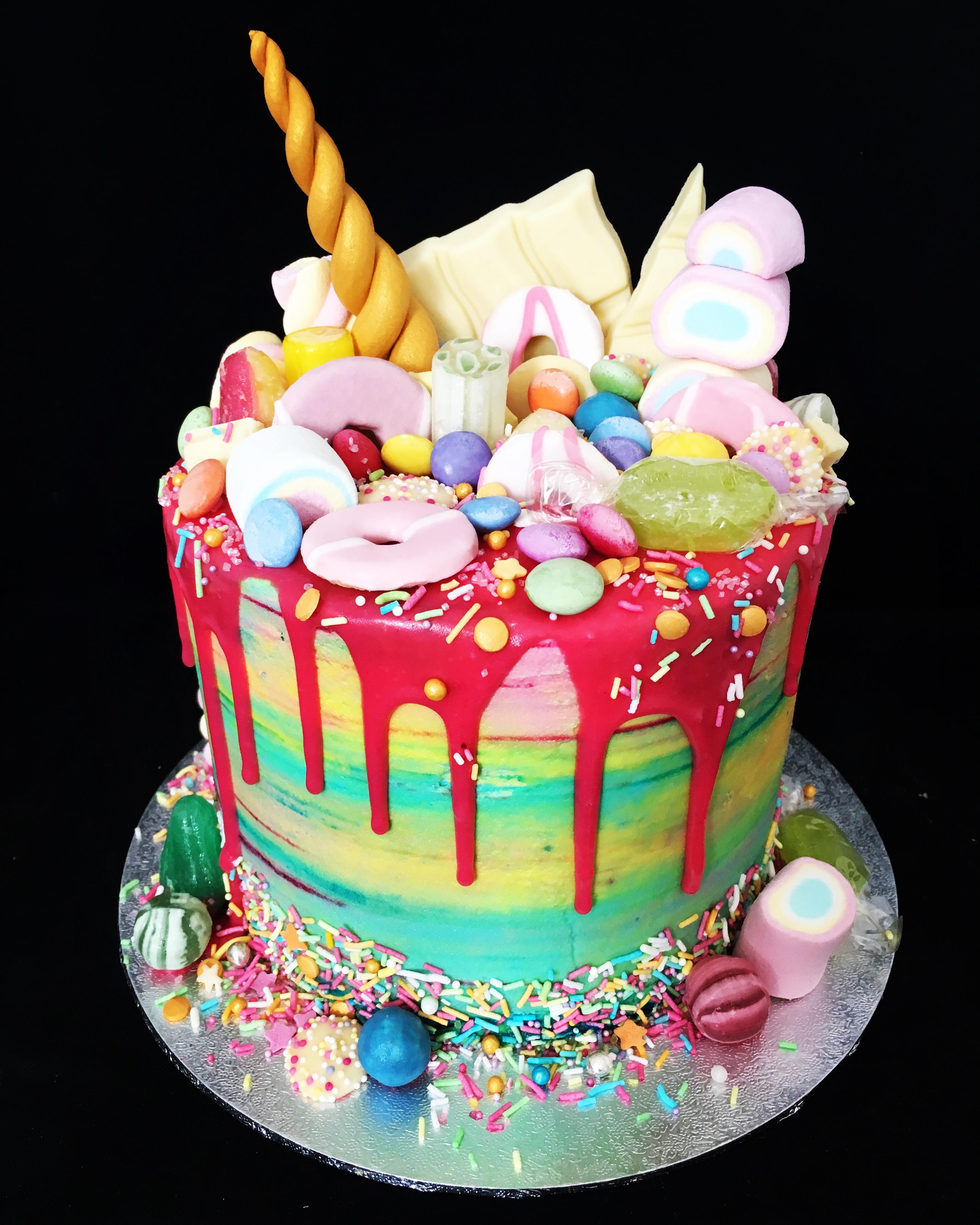 Colour Explosion Cake
