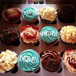 Corporate Christmas Cupcakes