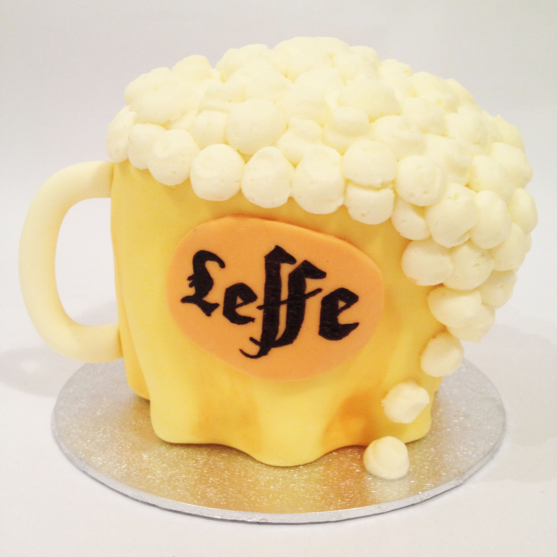 Leffe Beer Cake