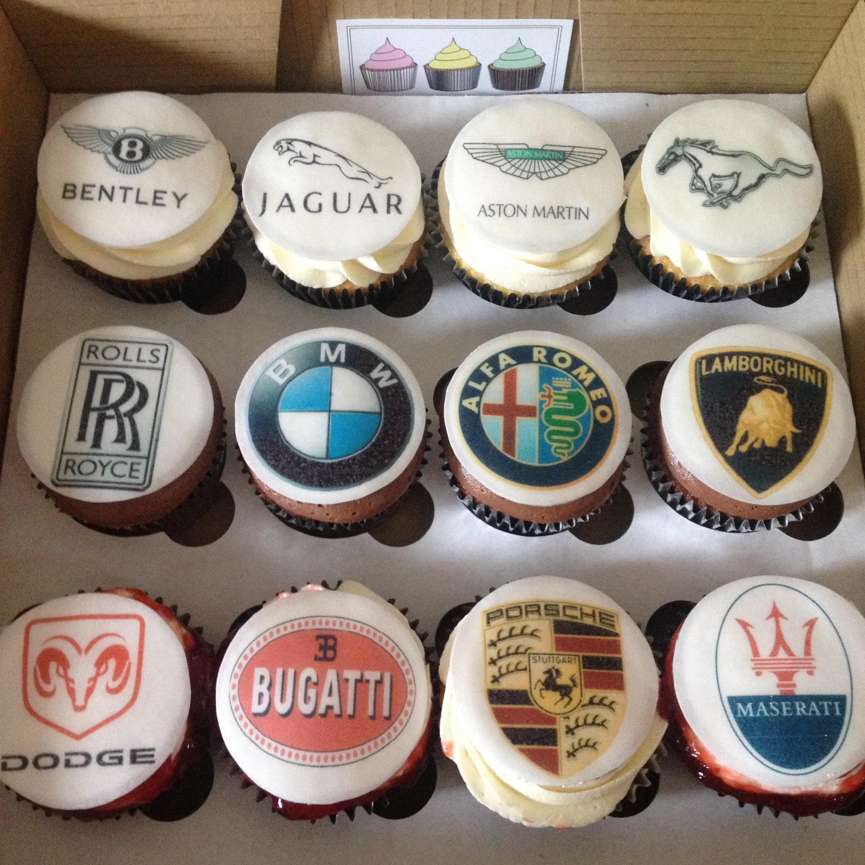 Car Corporate Cupcakes