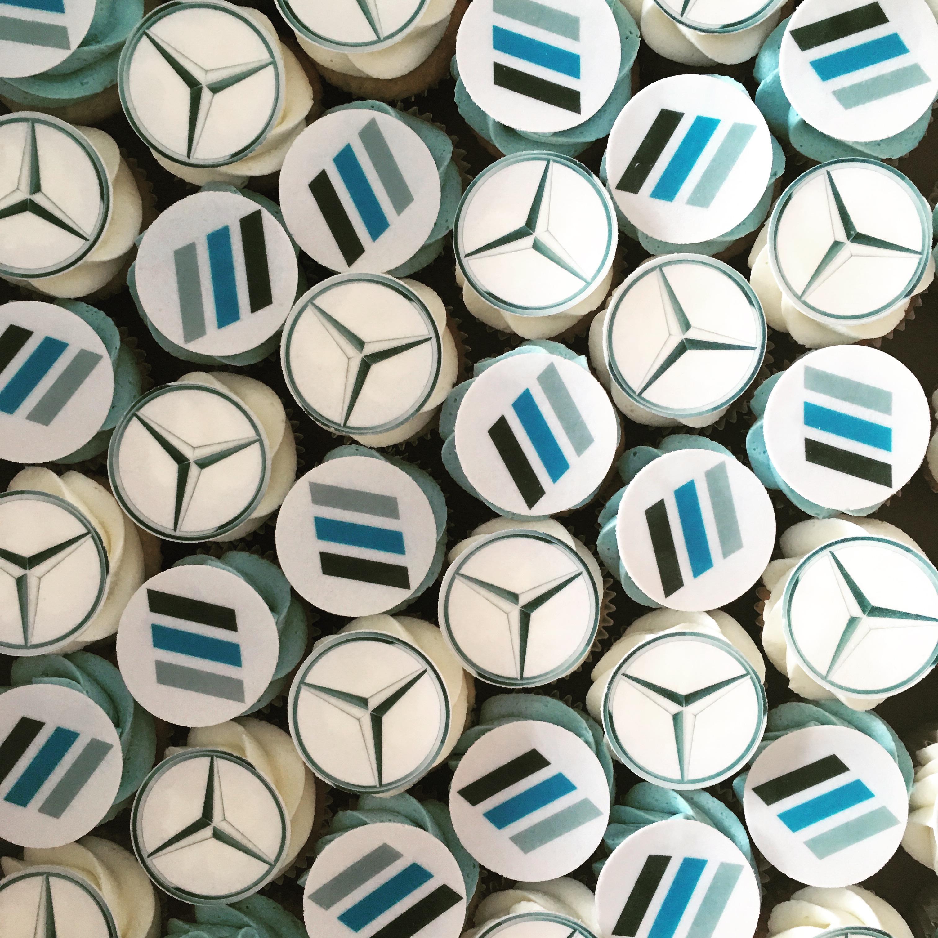 Mercedes Mini Cupcakes