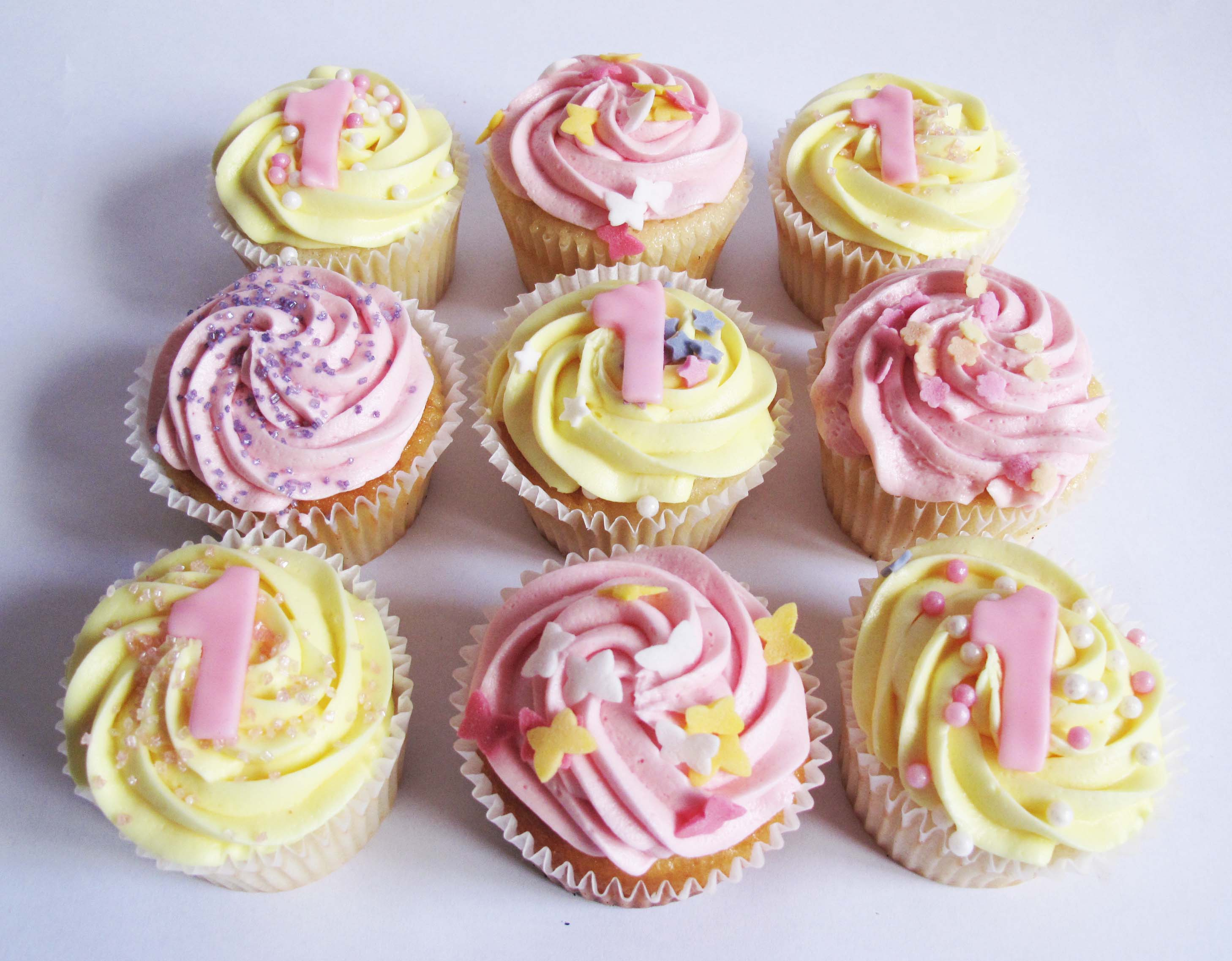 Number Cupcakes