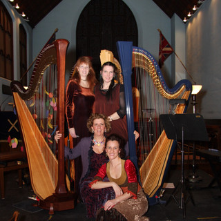 Harp Quartet with Caroline Leonardelli