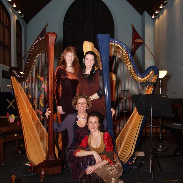 Harp Quartet with Caroline Leonardelli