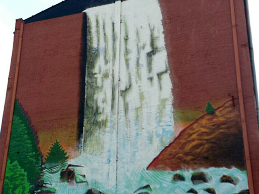 "Capitol Records & Beautify launch mural campaign for My Morning Jacket's ""Waterfall"" album"