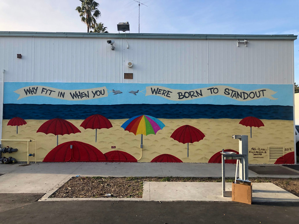 John Adams Middle School Mural - Santa Monica