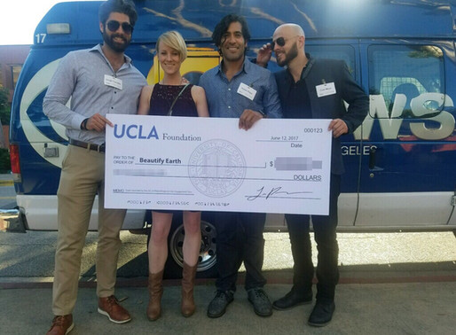 Beautify Earth Receives Grant from UCLA!