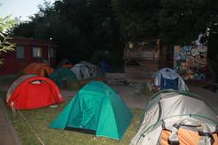 Zelten in der Großstadt 2018