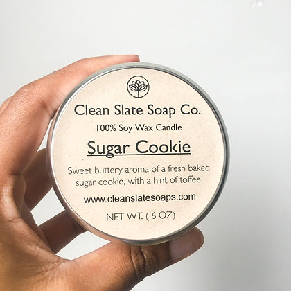 Sugar Cookie Soy Candle