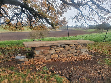 Tanderrum oak seat with view.jpg