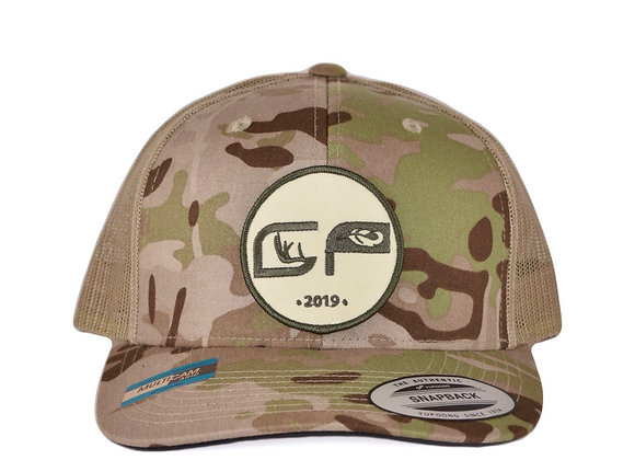Multicam Arid/Tan Patch Cap