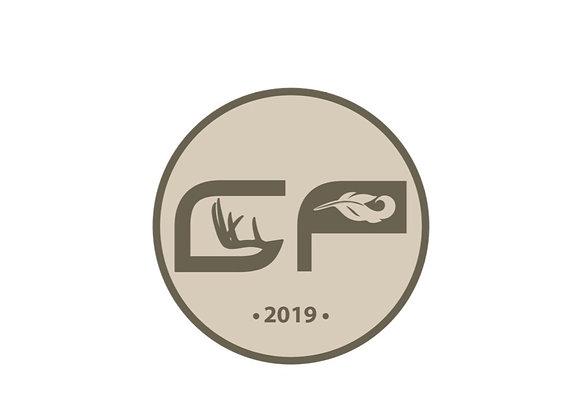 Tan GP Sticker